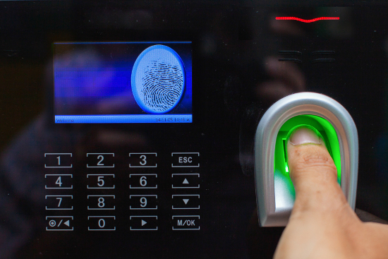 Biometric fingerprint access
